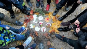 Herbstwanderung der Klasse 1b